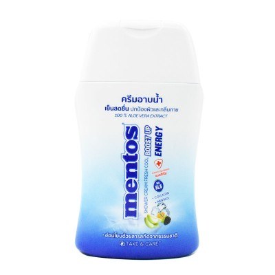 mt-001 CARE MENTOS SHOWER CREAM FRESH COOL BOOST UP ENERGY