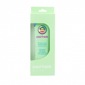 PAUL FRANK GREEN CLAY FACIAL FOAM