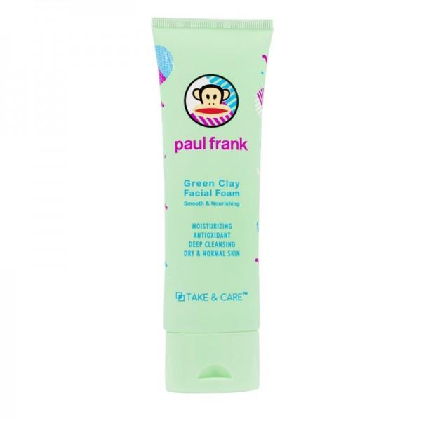 PAUL FRANK GREEN CLAY FACIAL FOAM
