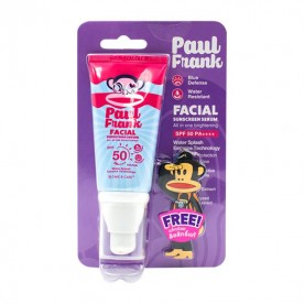 PAUL FRANK FACIAL SUNSCREEN SERUM, ALL IN ONE  BRIGHTENING SPF50 PA+++